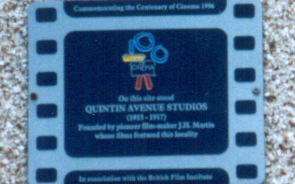 Cinema 100 plaque, 2/4 Quintin Avenue (JAG) 1999