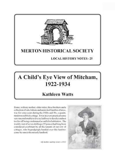 Local History Notes – MERTON HISTORICAL SOCIETY
