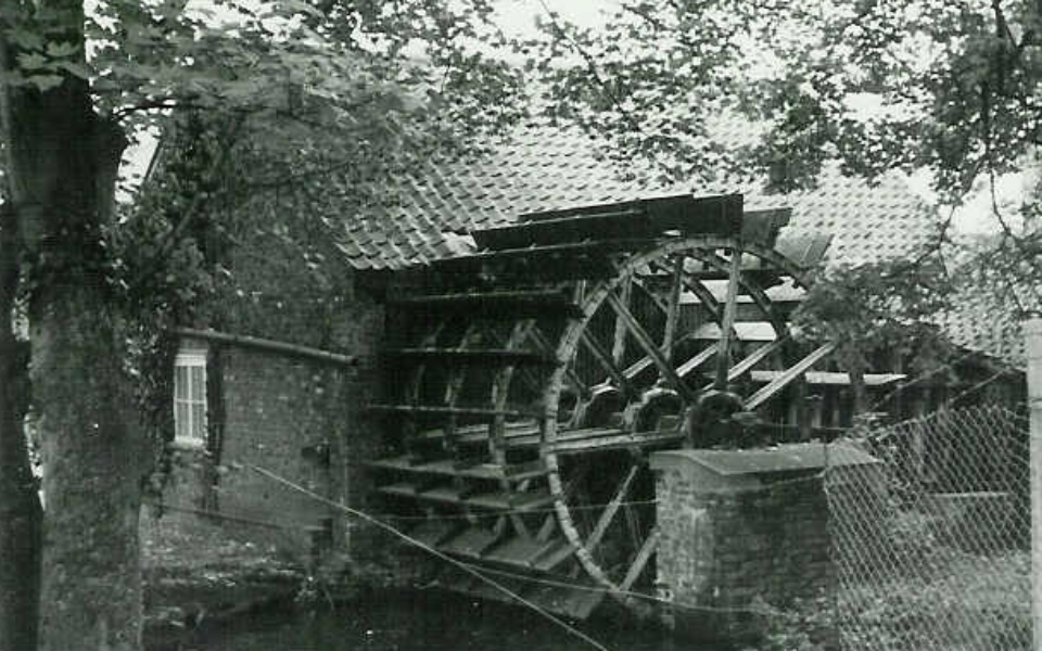 Liberty's mill wheel (J Pile) c.1950