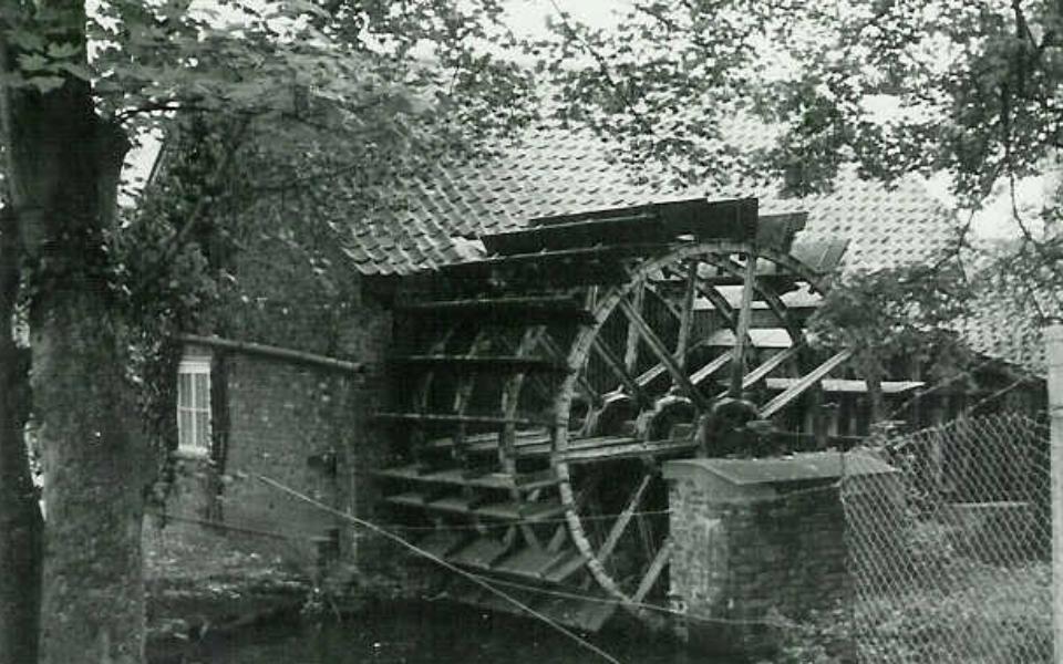 Liberty's mill wheel (J Pile) c.1950