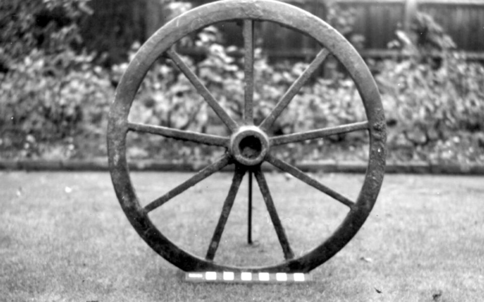 Wheel from Surrey Iron Railway