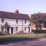 Cranmer Cottages, 3,5 & 7 Cranmer Road, Mitcham, Surrey CR4. Three early 18th century cottages. Nos. 3 & 5 are examples of salt-box houses.