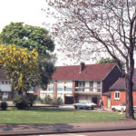 Cranmer Farm Close, Mitcham, Surrey CR4, . 1960s old peoples dwellings. on the site of what was Cranmer Farm. the home farm of the estate purchased in the 1650s by Robert Cranmer.