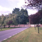 King George V Avenue, Cranmer Green, Mitcham,Surrey CR4. On the line of an avenue of elms that formed a drive to the Cranmers