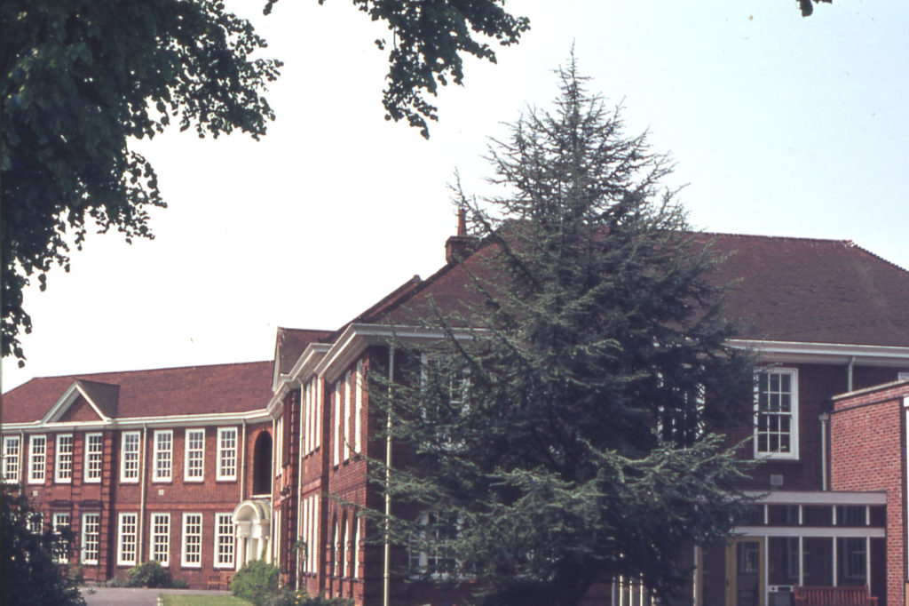 Cranmer Middle School, Cranmer Road, Mitcham, Surrey CR4. Built by Surrey Council and opened as Mitcham County School for Girls in 1929. In the 1990s it became Cranmer Primary School.