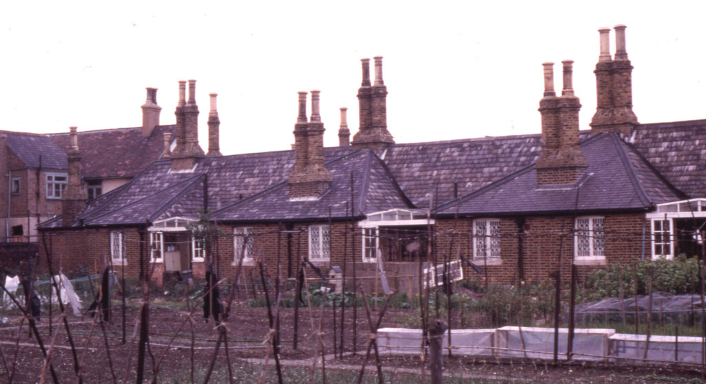Rear of Tate Almshouses, 16-30 Cricket Green, Mitcham, Surrey CR4.