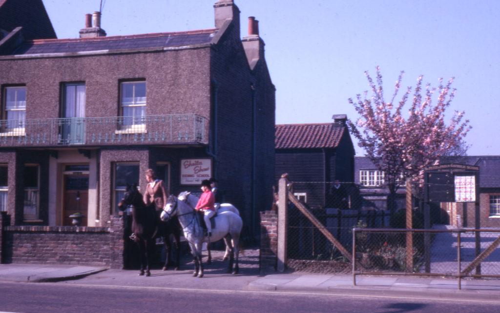 40/40a Cricket Green, Mitcham, Surrey CR4. Sheila Shaw Riding School.