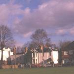 Nos. 7 and 9 Cricket Green, Mitcham, Surrey CR4. Ramornie and Chestnut Cottage.