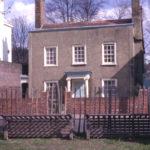 Chestnut Cottage, 9 Cricket Green, Mitcham, Surrey CR4. 18th century.