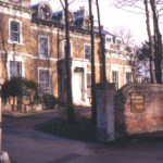 Mitcham Court, Cricket Green, Mitcham, Surrey CR4. Built c. 1823. Used as Council offices from 1937 to 1983.