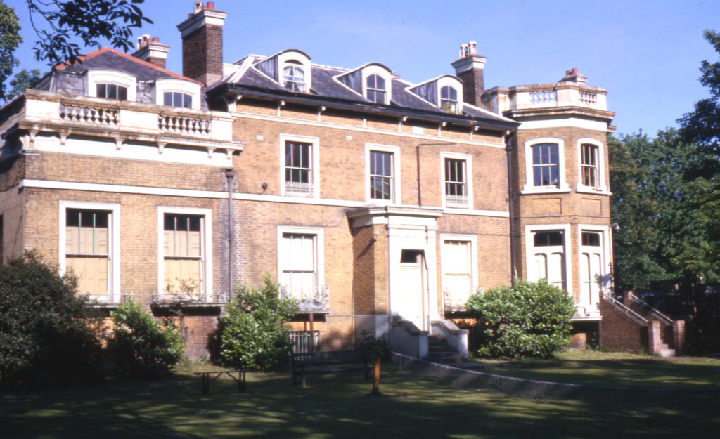 Mitcham Court, Cricket Green, Mitcham, Surrey CR4. Rear.