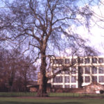 Wandle Park, Colliers Wood, London SW19. Site of Wandle Bank House. Connolly