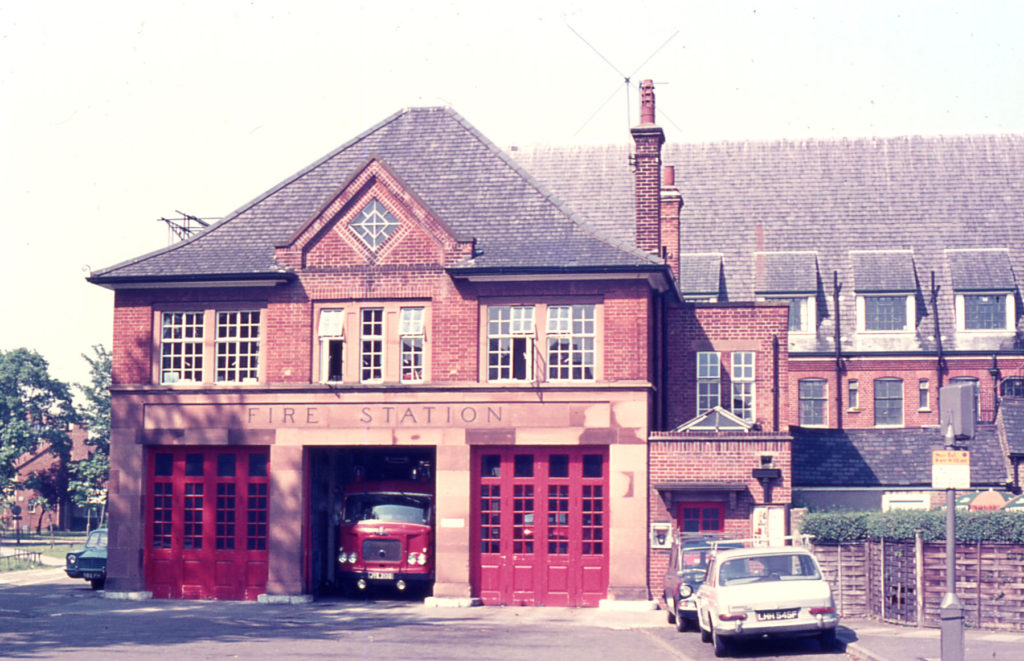Fire Station, Lower Green West, Mitcham, Surrey CR4. 1927