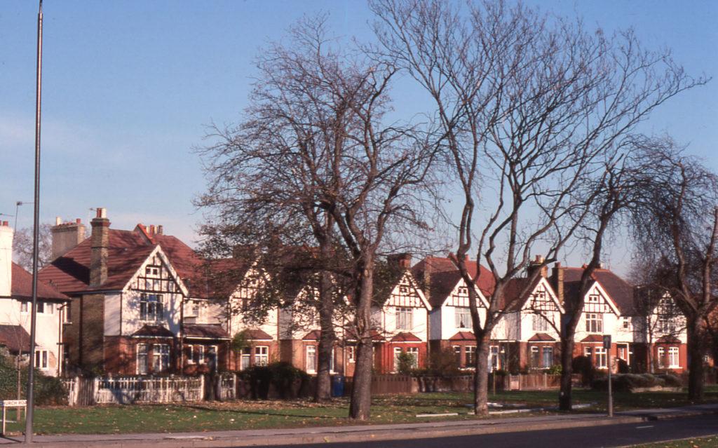 Preshaw Crescent, Lower Green West, Mitcham, Surrey CR4. 1890s.