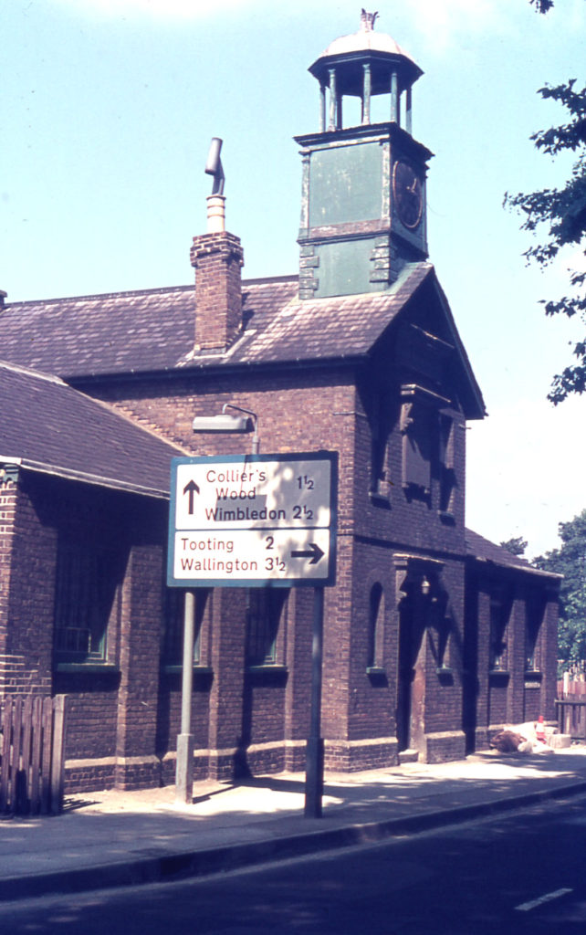 The National Schools, Lower Green West, Mitcham, Surrey CR4.