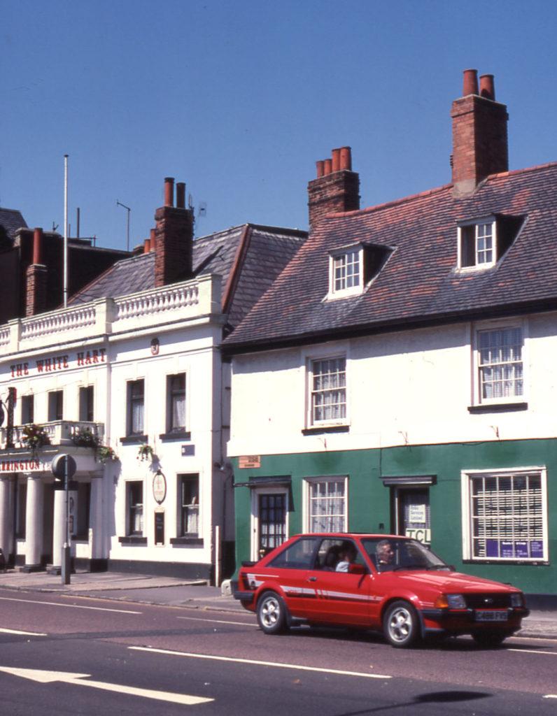 344-6 London Road and White Hart, Mitcham, Surrey CR4.