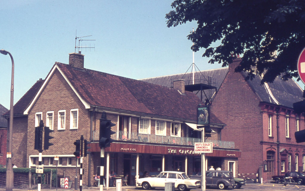 The Cricketers, London Road, Mitcham, Surrey CR4.