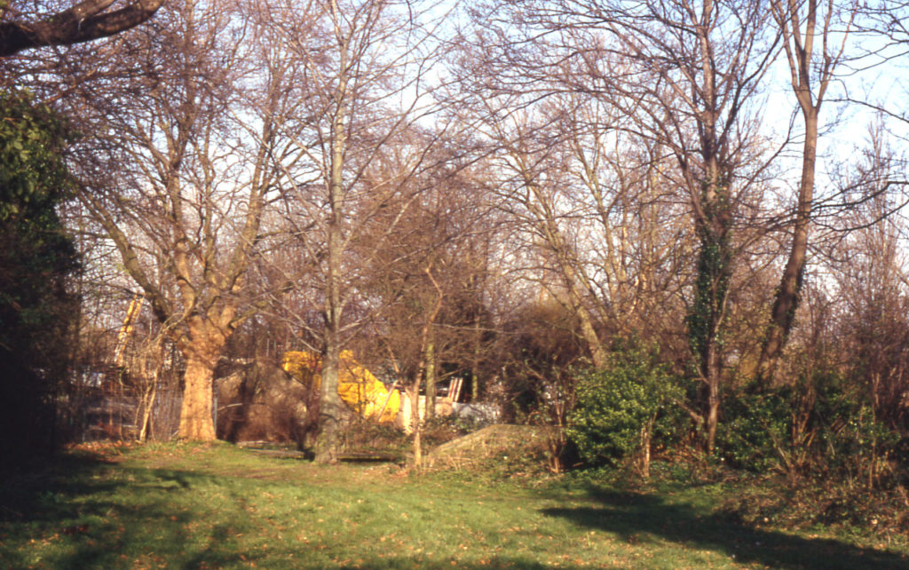 Site of Papermill at Watermeads, Mitcham, Surrey CR4. The Paper Mill was demolished in the latter half of the 19th century.