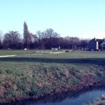 Mill Green from Goat Road, Mitcham Common, Mitcham, Surrey CR4.