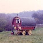 Gipsy caravan on Mitcham Common, Mitcham, Surrey CR4.
