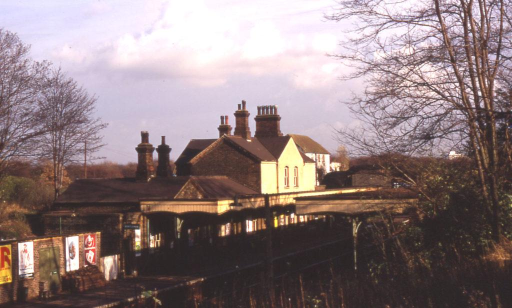 Mitcham Junction Station, Mitcham Common, Mitcham, Surrey CR4. Built 1868.