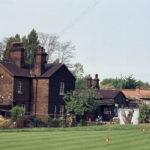 Golf Course from Beddington Lane, Mitcham Common, Mitcham, Surrey CR4.