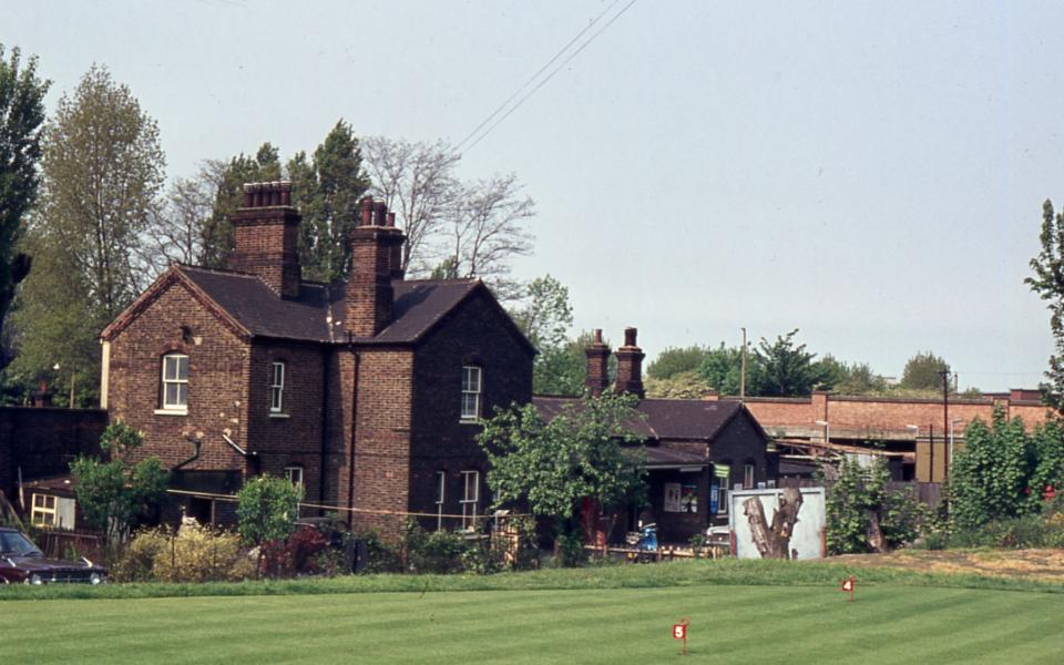 Mitcham Junction Station, Mitcham Common, Mitcham, Surrey CR4. From Golf Club.