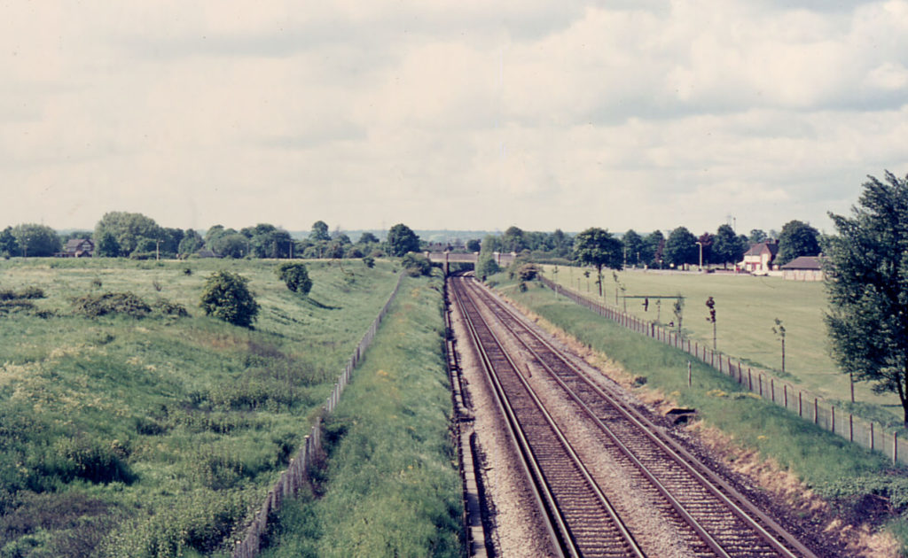 Mitcham Common, Mitcham, Surrey CR4. From Beehive Bridge.