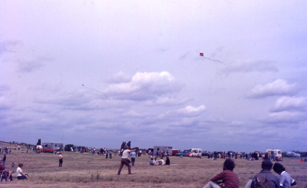 Kite festival on Mitcham Common, Mitcham, Surrey CR4.