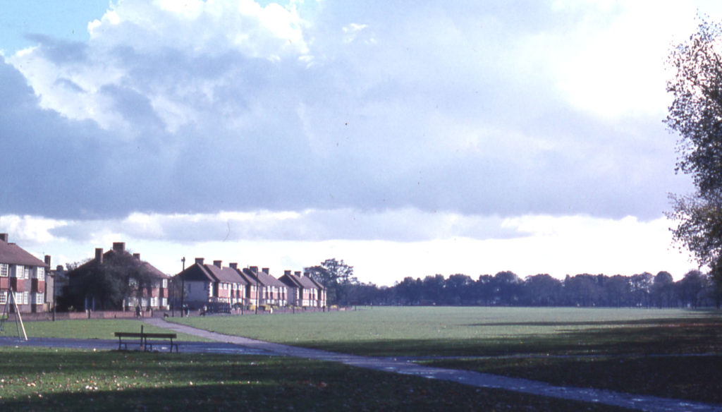Figges Marsh, London Road, Mitcham, Surrey CR4. Part of an estate of Merton Priory held by the earls of Gloucester in the Middle Ages. Estate sold in 1544 as manor of Biggin and Tamworth.