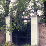 Gateway to Addingtons Villa, Phipps Bridge, London SW19. Gate relocated in 1975 to Cannizaro Park. Wimbledon.