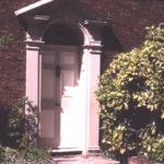 Wandle Villa - front door, 98 Phipps Bridge Road, Mitcham, Surrey CR4.