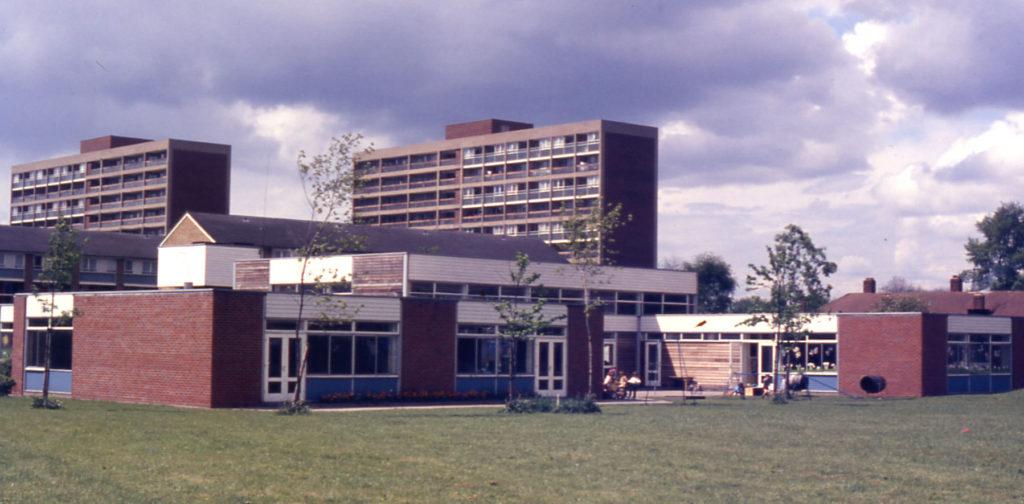 Phipps Bridge Primary School, Haslemere Avenue, Mitcham, Surrey CR4. Now Haslemere Primary School