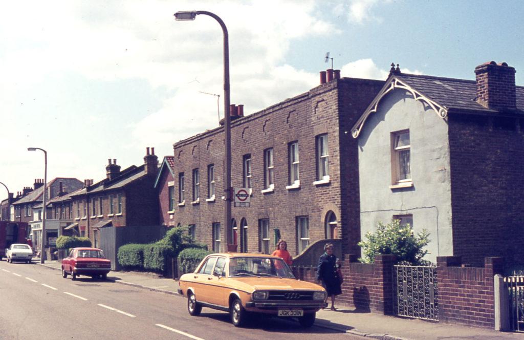 Church Road north of Benedict Road, Mitcham, Surrey CR4.
