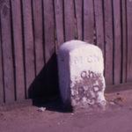 Boundary Stone of Mitcham Parish ?, Phipps Bridge Road, Mitcham, Surrey CR4.