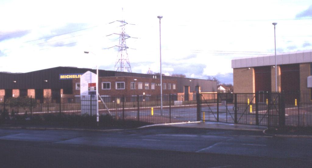 Merton Industrial Park, Mitcham, Surrey CR4. Site of the Great Bleaching Field. Phipps Bridge.