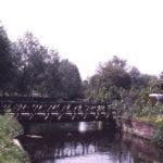 Phipps Bridge across the Wandle, London SW19.