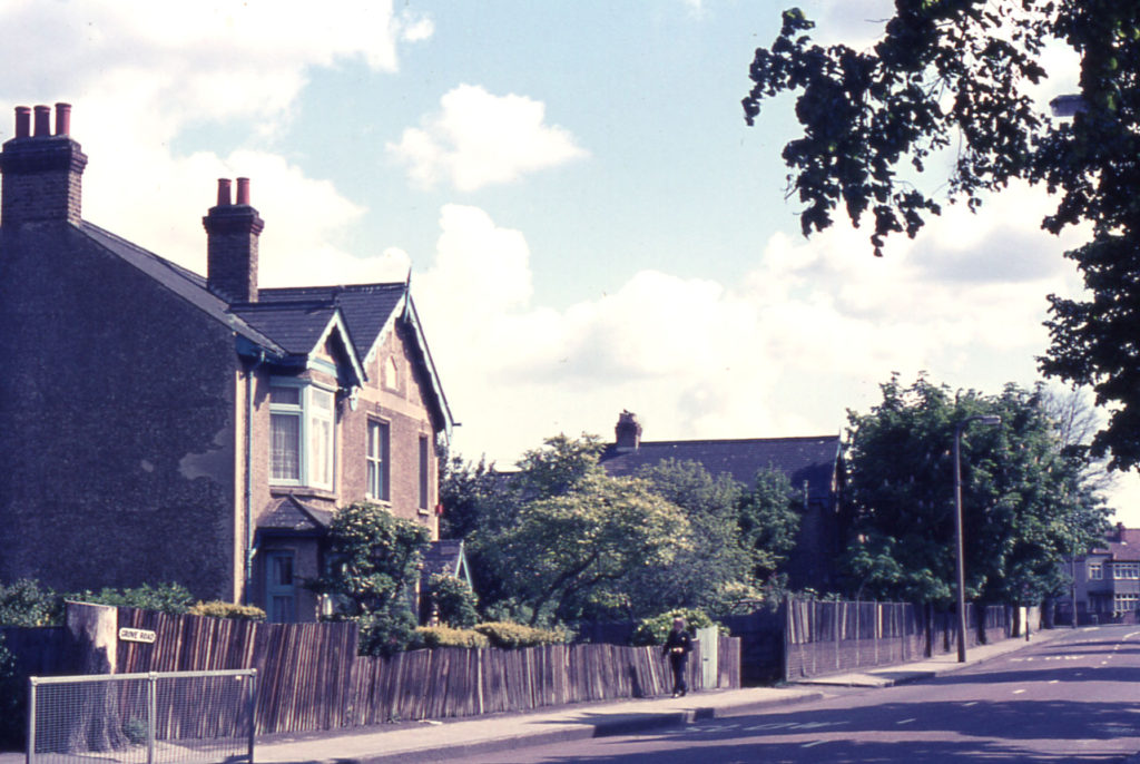 Mizen's House in Grove Road (ENM) 1975