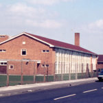 Eastfields School, Acacia Road, Mitcham, Surrey CR4. Developed in the late 1960s on the former Mizens land. Pain