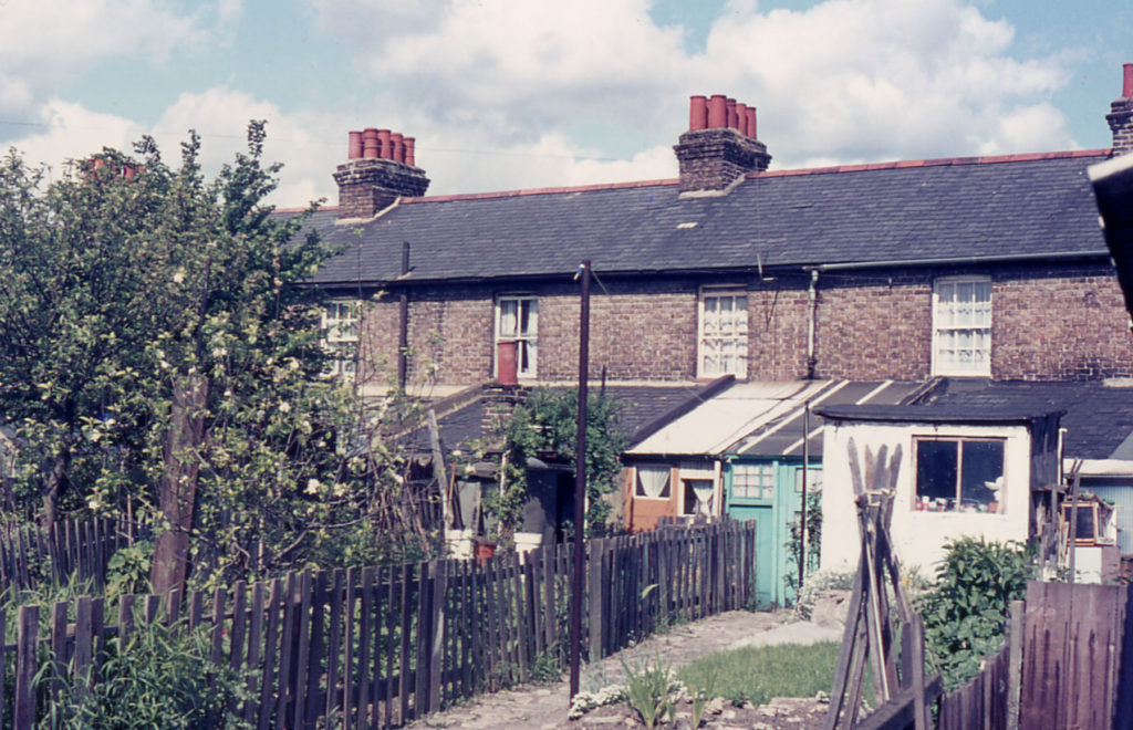 Rear of Ebenezer Terrace, London SW16.