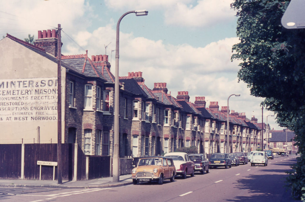 Greyhound Terrace, Lonesome, London SW16.