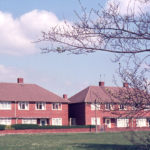 Donne Place, Mitcham, Surrey CR4. Built 1950s. On site of Tamworth House.