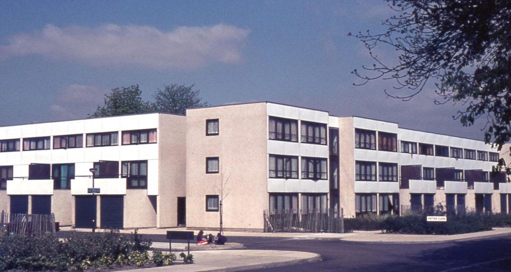 Eastfields Housing Estate, Potter Close, Mitcham Surrey CR4.