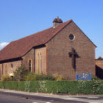 Church of the Ascension, Sherwood Park Road, Mitcham, Surrey CR4. Consecrated 9 May. 1953.