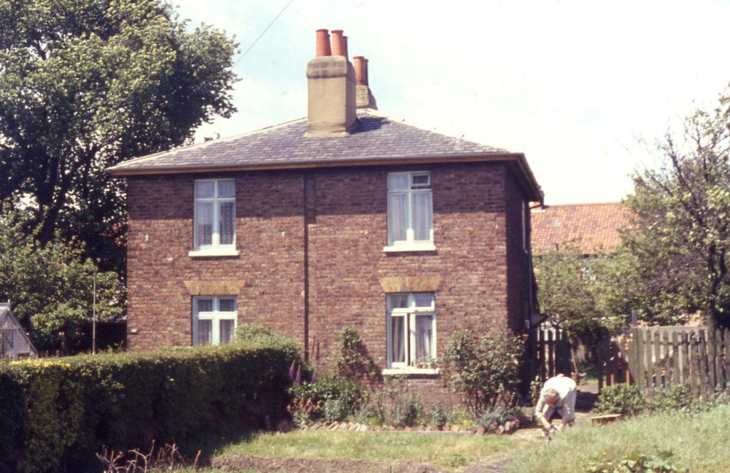 Cottages in Manor Road, Mitcham, Surrey CR4.
