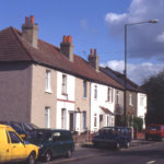 Tamworth Cottages, 231-241 Tamworth Lane, Mitcham, Surrey CR4. Late 19th century.