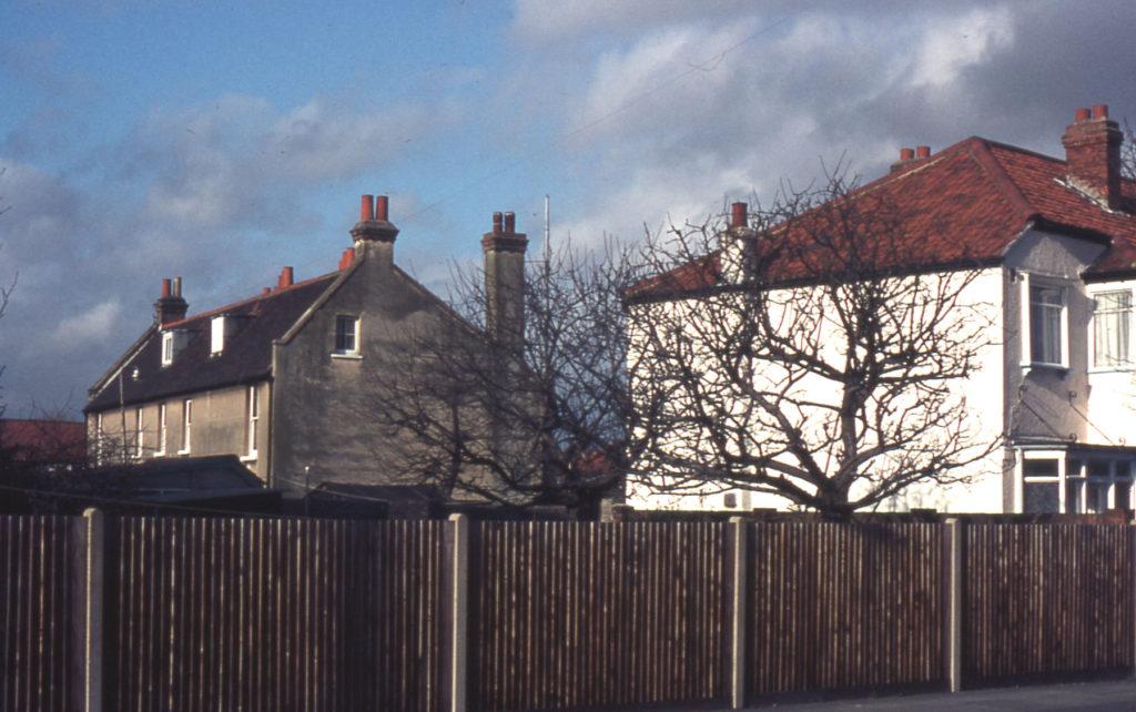 Farm cottages off New Barns Avenue, Mitcham, Surrey CR4.