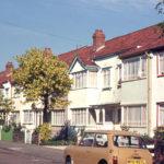Inter-war speculative housing in Galpins Road, Croydon CR7.