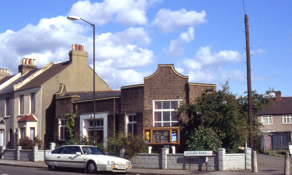 Lonesome Baptist Mission in Leonard Road, London SW16.