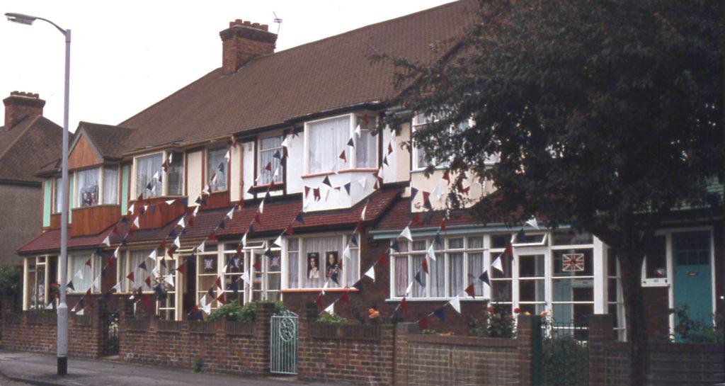 Jubilee Decoration Chestnut Grove, Mitcham, Surrey CR4.